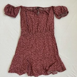 Olivaceous Mini Dress M